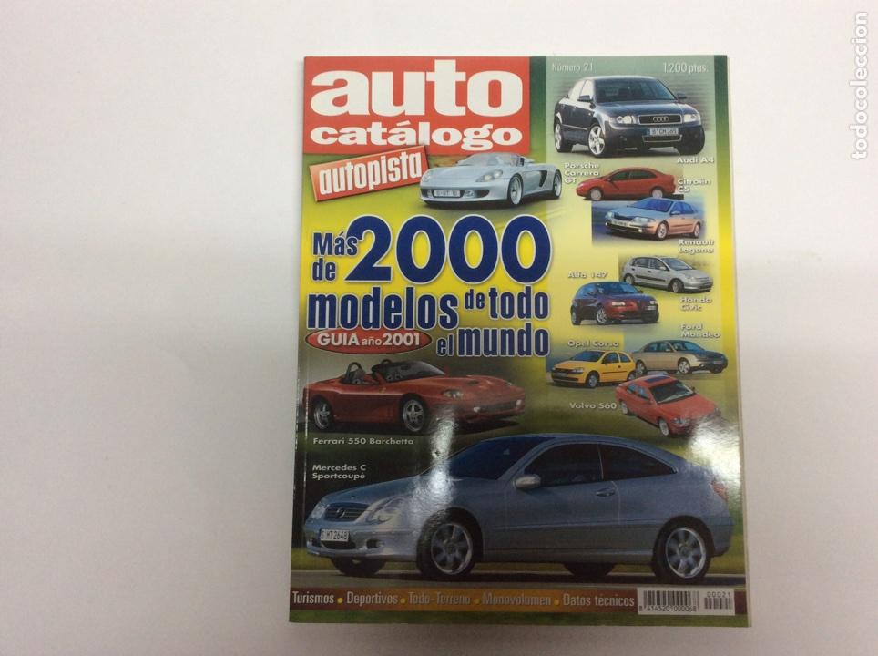 AUTO CATALOGO AUTOPISTA Nº 21 AÑO 2000. (Coches y Motocicletas - Revistas de Motos y Motocicletas)
