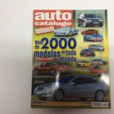 Coches y Motocicletas: AUTO CATALOGO AUTOPISTA Nº 21 AÑO 2000.. Lote 61606252