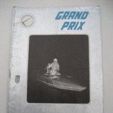 Coches y Motocicletas: REVISTA GRAND PRIX. Nº 5. 1960. MOTORISMO, AUTOMOVILISMO, MOTONAUTICA Y AVIACIÓN DEPORTIVA. Lote 62457332