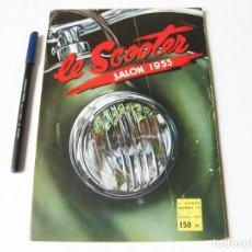 Coches y Motocicletas: REVISTA LE SCOOTER Nº 18 ESPECIAL DEL SALON DEL SCOOTER DE 1953.. Lote 63444676
