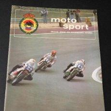 Coches y Motocicletas: REVISTA MOTO SPORT NUMERO Nº 75 DE 1977. Lote 63739539