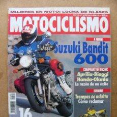 Coches y Motocicletas: MOTOCICLISMO 1406 SUZUKI BANDIT 600 KTM 300 EXC LAS 16 MEJORES MOTOS DE 1995 A EXAMEN. Lote 111843592