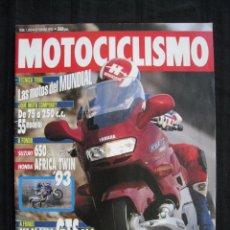 Coches y Motocicletas: REVISTA MOTOCICLISMO - Nº 1304 - FEBRERO 1993.. Lote 65662118