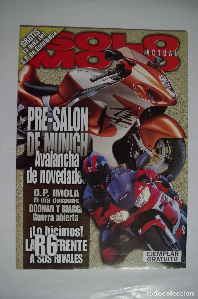 SOLO MOTO Y GUIA DEL GP DE CATALUNYA 1999 (Coches y Motocicletas - Revistas de Motos y Motocicletas)