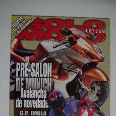 Coches y Motocicletas: SOLO MOTO Y GUIA DEL GP DE CATALUNYA 1999. Lote 67596489