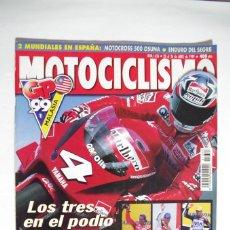 Coches y Motocicletas: MOTOCICLISMO Nº 1626 - GP 99 MALASIA - CHECA CRIVILLE Y ALZAMORA AL PODIO. Lote 67598481