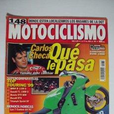 Coches y Motocicletas: MOTOCICLISMO Nº 1638 - JULIO 1999. Lote 67601561