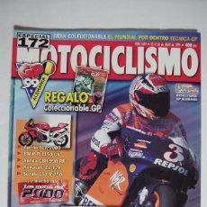 Coches y Motocicletas: MOTOCICLISMO Nº 1639 JULIO 1999 - GP ALEMANIA - CON COLECCIONABLE EL MUNDIAL POR DENTRO. Lote 67602013
