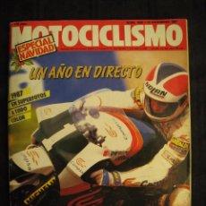 Coches y Motocicletas: REVISTA MOTOCICLISMO - Nº 1036 - DICIEMBRE 1987.. Lote 67769457