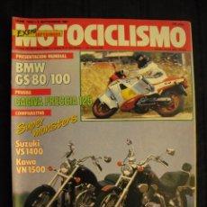 Coches y Motocicletas: REVISTA MOTOCICLISMO - Nº 1019 - SEPTIEMBRE 1987.. Lote 68229109