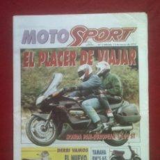 Coches y Motocicletas: SUPLEMENTO SPORT MOTO SPORT 2 1993. Lote 69243161