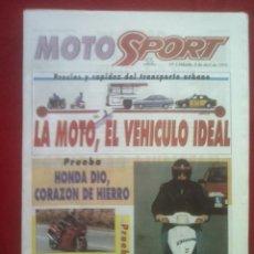 Coches y Motocicletas: SUPLEMENTO SPORT MOTO SPORT 3 1993. Lote 69243393