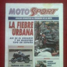 Coches y Motocicletas: SUPLEMENTO SPORT MOTO SPORT 6 1993. Lote 69243645