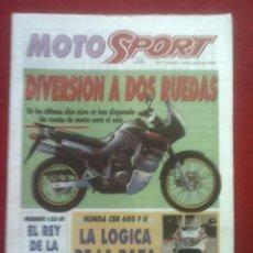 Coches y Motocicletas: SUPLEMENTO SPORT MOTO SPORT 7 1993. Lote 69243757
