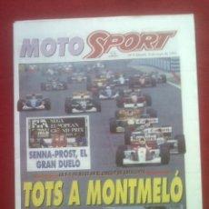 Coches y Motocicletas: SUPLEMENTO SPORT MOTO SPORT 9 1993. Lote 69244105
