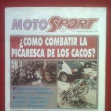 Coches y Motocicletas: SUPLEMENTO SPORT MOTO SPORT 11 1993. Lote 69244325