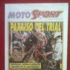 Coches y Motocicletas: SUPLEMENTO SPORT MOTO SPORT 12 1993. Lote 69244437