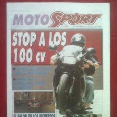 Coches y Motocicletas: SUPLEMENTO SPORT MOTO SPORT 13 1993. Lote 69244885