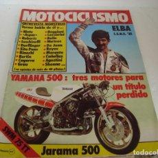 Coches y Motocicletas: REVISTA MOTOCICLISMO DE OCTUBRE 1981.. Lote 69246113
