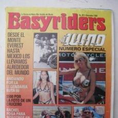 Coches y Motocicletas: REVISTA EASYRIDERS Nº 90 - AÑO 1998 - VER FOTO SUMARIO. Lote 69597761