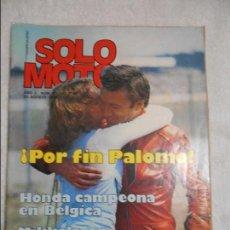 Coches y Motocicletas: SOLO MOTO NUM 51 DE 1976 ENSAYO DERBI CROSS 50V4 CHAPEAU ISERN. Lote 69711213