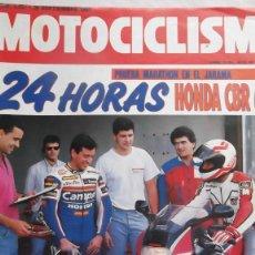 Coches y Motocicletas: REVISTA MOTOCICLISMO NUMERO 1231 26 SEPTIEMBRE 1991. Lote 70803933
