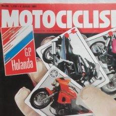 Coches y Motocicletas: REVISTA MOTOCICLISMO NUMERO 1219 4 JULIO 1991. Lote 70820825