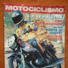 Coches y Motocicletas: MOTOCICLISMO Nº 471-1976. Lote 71202165