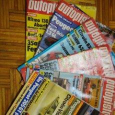 Coches y Motocicletas: REVISTA AUTOPISTA 1984-LOTE DE 32 NUMEROS. Lote 72161539