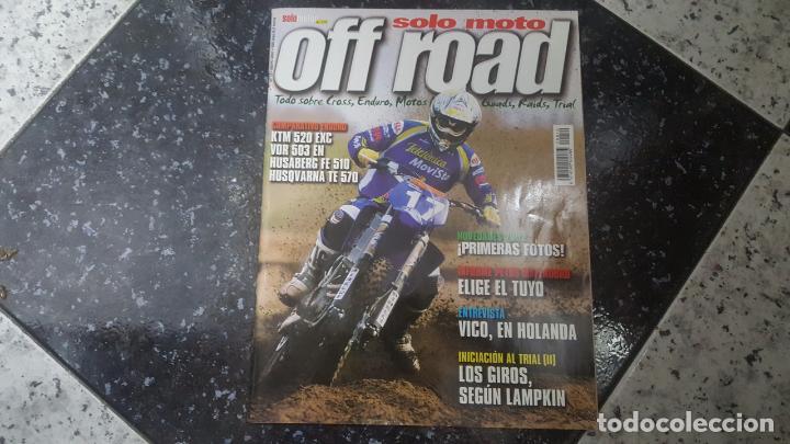 SOLO MOTO OFF ROAD NUMERO 10 MAYO 2001 (Coches y Motocicletas - Revistas de Motos y Motocicletas)