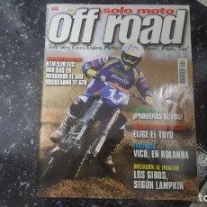 Coches y Motocicletas: SOLO MOTO OFF ROAD NUMERO 10 MAYO 2001. Lote 72385403