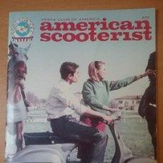 Coches y Motocicletas: REVISTA VESPA CLUB USA.AMERICAN SCOOTERIST.. Lote 74622119
