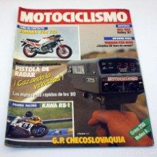 Coches y Motocicletas: REVISTA MOTOCICLISMO - NUMERO 1018 - 27 AGOSTO 1987 - YAMAHA TZR125 GAS GAS HALLEY 325. Lote 74639935