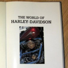 Coches y Motocicletas: LIBRO BOOK THE WORLD OF HARLEY-DAVIDSON TOM ISITT. Lote 74995091