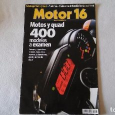 Coches y Motocicletas: MOTOR 16 Nº 95, AÑO 2006. Lote 75914151