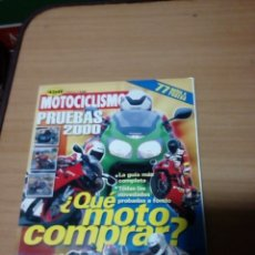 Coches y Motocicletas: REVISTA MOTOCICLISMO PRUEBAS 2000. Lote 75915302