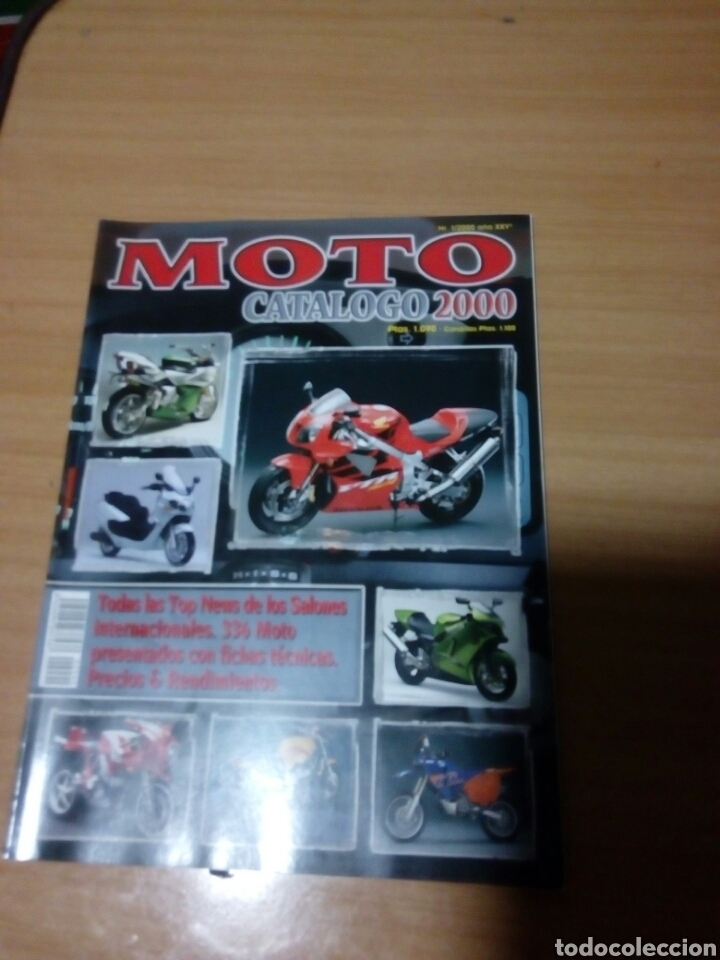 REVISTA MOTO CATALOGO 2000 (Coches y Motocicletas - Revistas de Motos y Motocicletas)