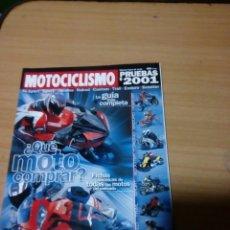 Coches y Motocicletas: REVISTA MOTOCICLISMO PRUEBAS 2001. Lote 75916149