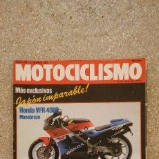 Coches y Motocicletas: MOTOCICLISMO Nº 995 AÑO 1987. Lote 75973051