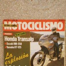 Coches y Motocicletas: MOTOCICLISMO Nº 998, AÑO 1987. Lote 76582123
