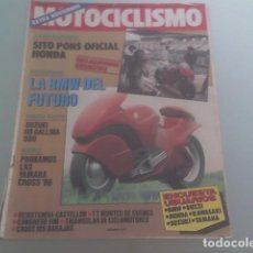 Coches y Motocicletas: MOTOCICLISMO Nº 926, AÑO 1986. Lote 76584723