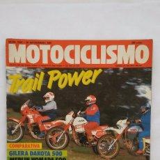 Coches y Motocicletas: MOTOCICLISMO Nº 1031. Lote 76587195