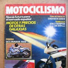 Coches y Motocicletas: MOTOCICLISMO 1079 BAKKERS QCS YAMAHA 1000 CAGIVA T4 500 R. Lote 76633943