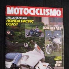 Coches y Motocicletas: REVISTA MOTOCICLISMO - Nº 1111 - JUNIO 1989 - CON POSTER SITO PONS.. Lote 108228002