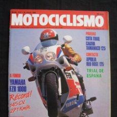 Coches y Motocicletas: REVISTA MOTOCICLISMO - Nº 1117 - JULIO 1989.. Lote 78566605