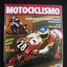 Coches y Motocicletas: REVISTA MOTOCICLISMO - Nº 1126 - SEPTIEMBRE 1989 - POSTER DE ALEX CRIVILLE.. Lote 156774942