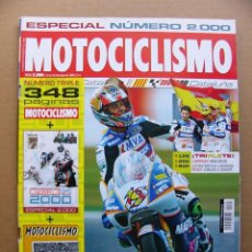 Coches y Motocicletas: MOTOCICLISMO 2000 KAWASAKI ZZR 1400 BMW F 800 ST DERBI MULHACEN 659 APRILIA RS 125 SUZUKI BURGMAN. Lote 111843514