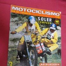 Coches y Motocicletas: MOTOCICLISMO. 440. 8 NOVIEMBRE 1975. 3 PRUEBAS. DUCATI PRONTO 50. NORTON 850. DUCATI 860. . Lote 79546497