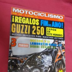 Coches y Motocicletas: MOTOCICLISMO. 443. 20 DICIEMBRE 1975. 3 PRUEBAS.. DUCSON S 12 . LAMBRETTA PUMA 5 V. DERBI CROSS 74.. Lote 79548329