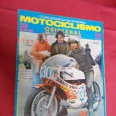 Coches y Motocicletas: MOTOCICLISMO. PRIMERA QUINCENA AGOSTO 1972. LOS CAMPEONATOS AL ROJO VIVO.. Lote 79549149
